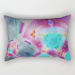 pastel geometrical asbtract Rectangular Pillow