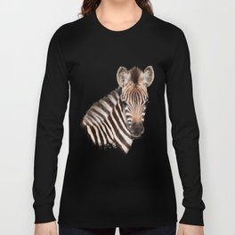 Baby Zebra Long Sleeve T-shirt