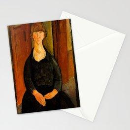 "Amedeo Modigliani ""Flower Vendor.jpg Stationery Cards"