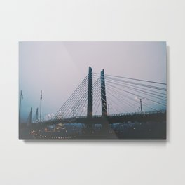 Tilikum Crossing Metal Print
