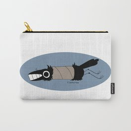 fishcrow paper roll (blue) Carry-All Pouch