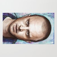 jesse pinkman Area & Throw Rugs featuring Jesse Pinkman by Olechka