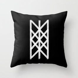 The Web of Wyrd  Throw Pillow