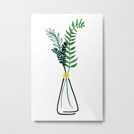 Italian Herbs / Botanical Illustration Metal Print