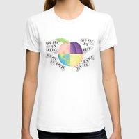 peach T-shirts featuring Peach by Larissa