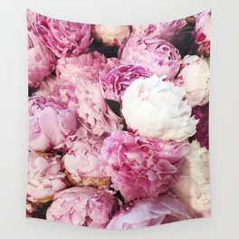 PEONIES FOR DAYS Wall Tapestry