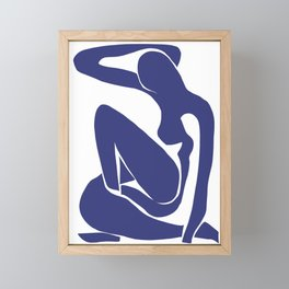 Matisse Cut Out Figure #1 Framed Mini Art Print