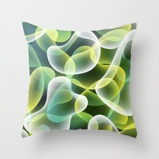Cell Throw Pillow