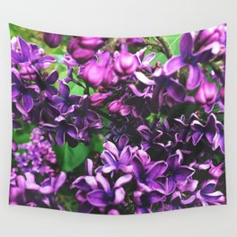 Lilac Wall Tapestry