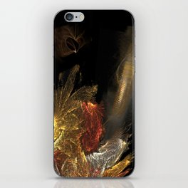 Dragon with staircase iPhone Skin