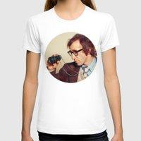 woody allen T-shirts featuring WOODY ALLEN by VAGABOND