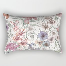 Magical Floral  Rectangular Pillow