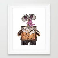wall e Framed Art Prints featuring Wall-e by storyofgokce
