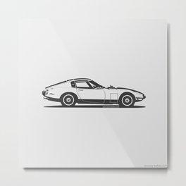 Toyota 2000GT Metal Print