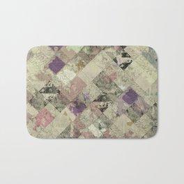 Abstract Geometric Background #25 Bath Mat