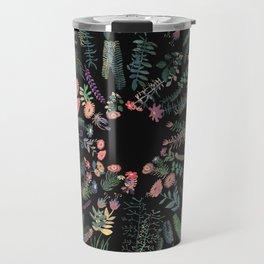 Drak circular garden Travel Mug