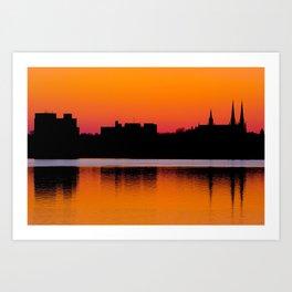 Charlottetown Sunset Art Print