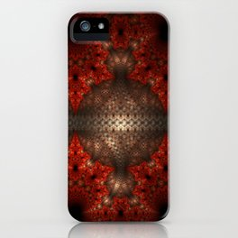 Fractal Art by Sven Fauth - Dance of the Turtles iPhone Case