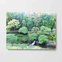 Japanese Tea Garden Metal Print