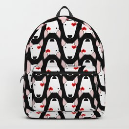 Bully Love on a black background Backpack