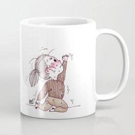 Expection vs Reality Yogi Girl Coffee Mug