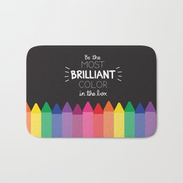 Most Brilliant Color Bath Mat