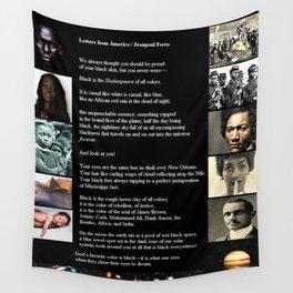 Letters from America - Jéanpaul Ferro - Poetry Art Wall Tapestry