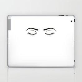 Fashion Wall Art Eyebrows On Fleek Fashion Print Makeup Print Makeup Decor Eye Lashes Girls Room Laptop & iPad Skin