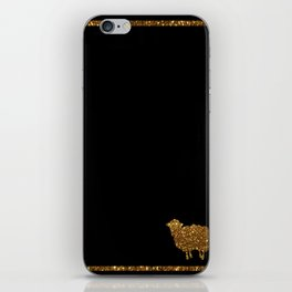 Golden sheep you are special  iPhone Skin