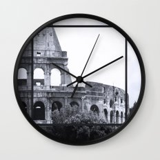 Colosseum Rome Italy Wall Clock