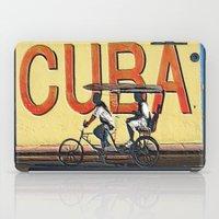 cuba iPad Cases featuring Viva Cuba Libre! by Gian...