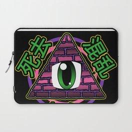 Illuminati-Chan (Pink) Laptop Sleeve