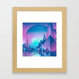 MEDIATION (everyday 05.21.17) Framed Art Print