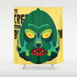 Gill-Man Shower Curtain