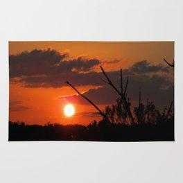 The Beautiful Sunset Rug
