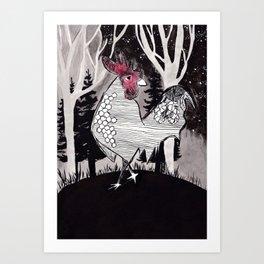 Wally Art Print