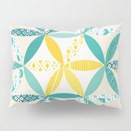Patchwork Sunshine Pillow Sham
