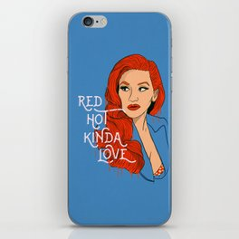 Red Hot Kinda Love iPhone Skin