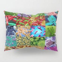 Bacteria Montage Pillow Sham