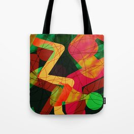 Bowling Alley Tote Bag