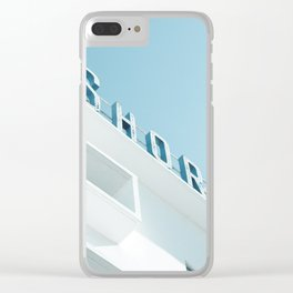 Art Deco Miami Beach #1 Clear iPhone Case
