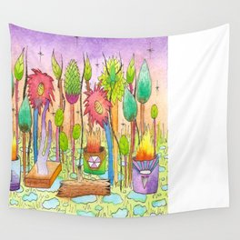 Dream Garden 2 Wall Tapestry