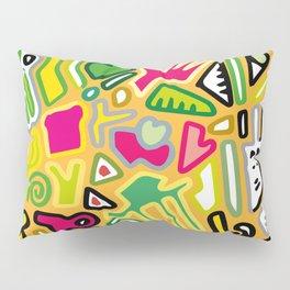color doodle Pillow Sham