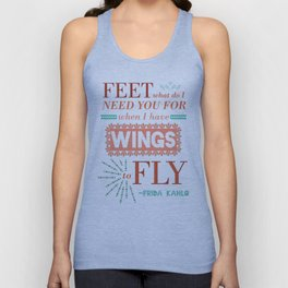 I Have Wings Unisex Tank Top