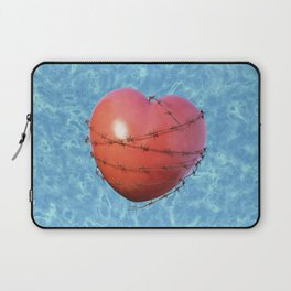 Barb Wire Heart - Coeur Barbelé Laptop Sleeve