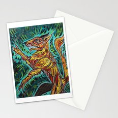 Old World Wolf Stationery Cards