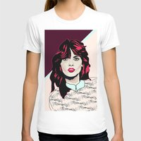80s T-shirts featuring 80s Pink by Anna McKay