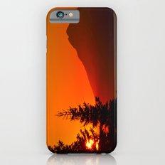 Orange Sky - Mt. Redoubt iPhone 6s Slim Case