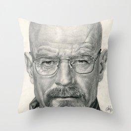 Bryan Cranston ~ Walter White ~ Breaking Bad Throw Pillow