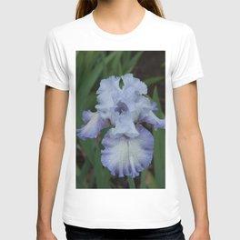 Blue Iris by Teresa Thompson T-shirt